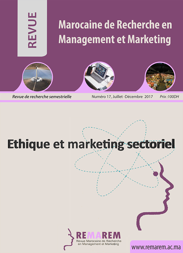 Revue marocaine de recherche en management et marketing for Revue marketing